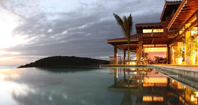 Vacation villa rental in Brazil - Rio de Janeiro - Buzios - Villa 407