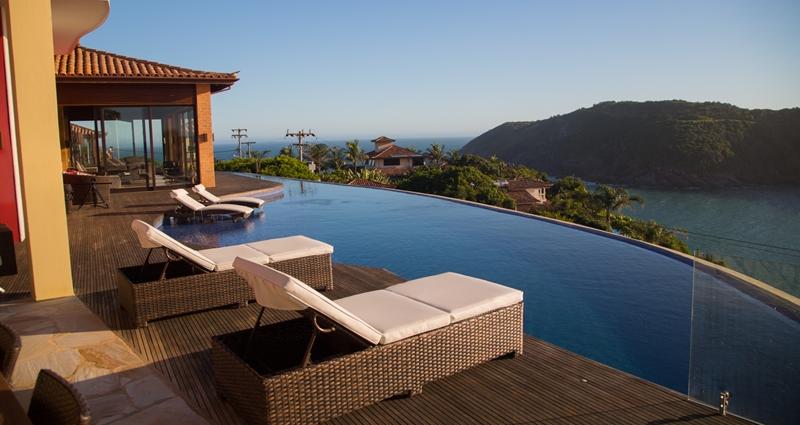 Vacation villa rental in Brazil - Rio de Janeiro - Buzios - Villa 412