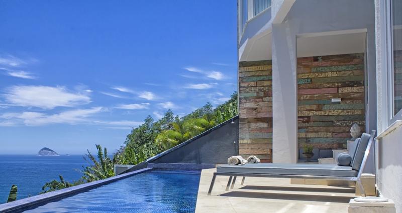 Vacation villa rental in Brazil - Rio de Janeiro - Barra de Tijuca - Villa 414