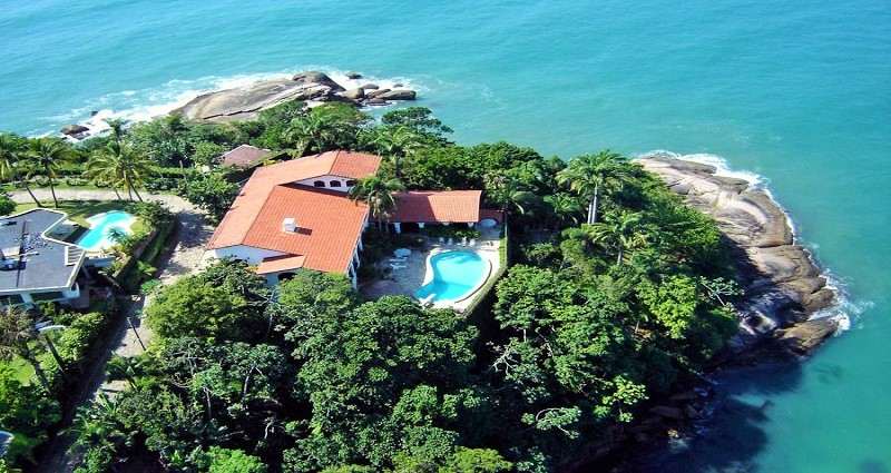 Vacation villa rental in Brazil - Sao Paulo - Ubatuba - Villa 446