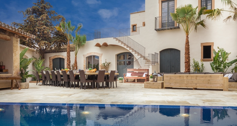 Vacation villa rental in Spain - Barcelona - Sitges - Villa 477