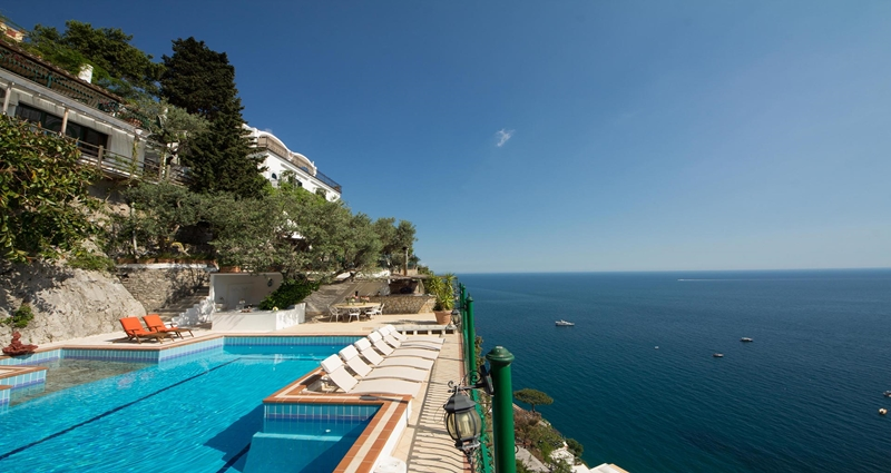 Vacation villa rental in Italy - Amalfi Coast - Positano - Villa 471