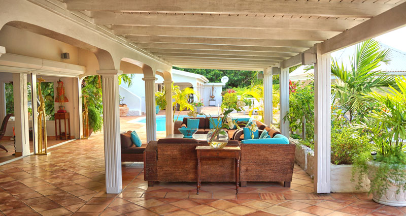 Bed and breakfast in St. Martin - St. Maarten - Anse Marcel - Inn 292