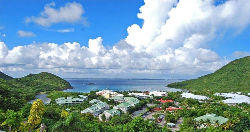 Bed and breakfast in St. Martin - St. Maarten - Anse Marcel - Inn 297