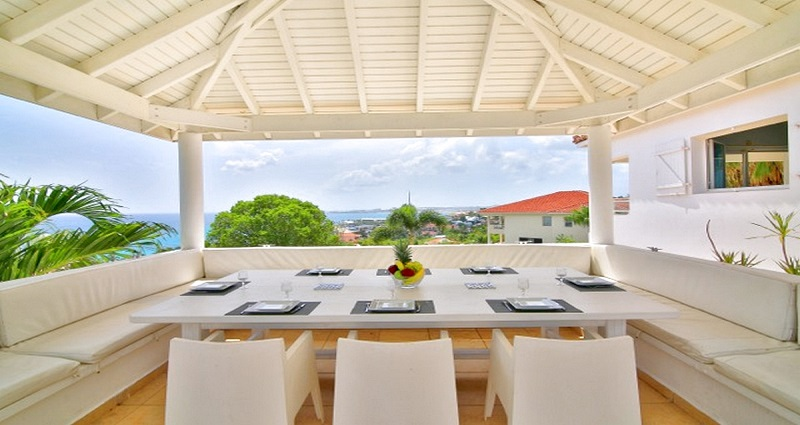 Vacation villa rental in St. Martin - St. Maarten - Pelican Key - Villa 458