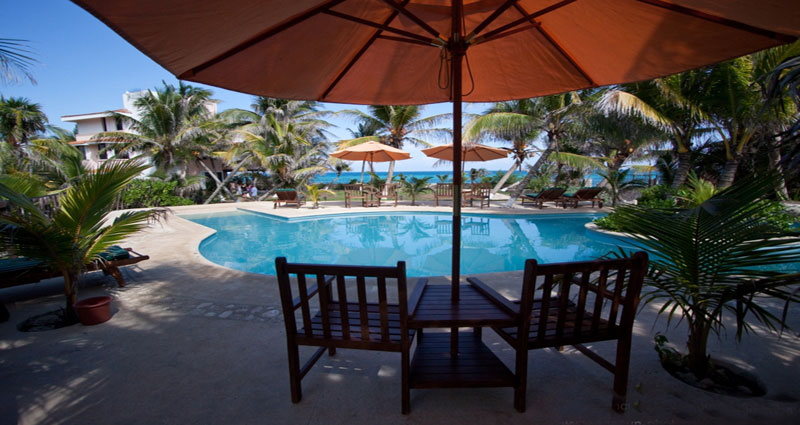 Bed and breakfast in Mexico - Quintana Roo - Mayan Riviera - Inn 115