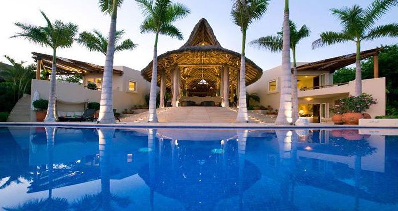 Vacation villa rental in Mexico - Puerto Vallarta - Punta Mita - Villa 167