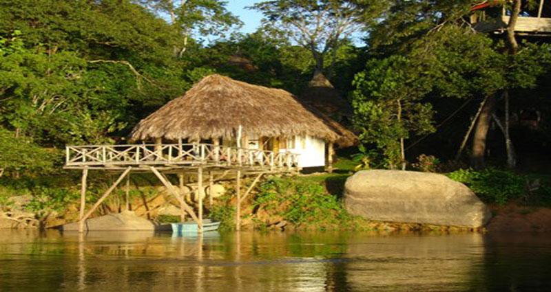 Posada en alquiler en Venezuela - Bolívar - Río Caura - Posada 303
